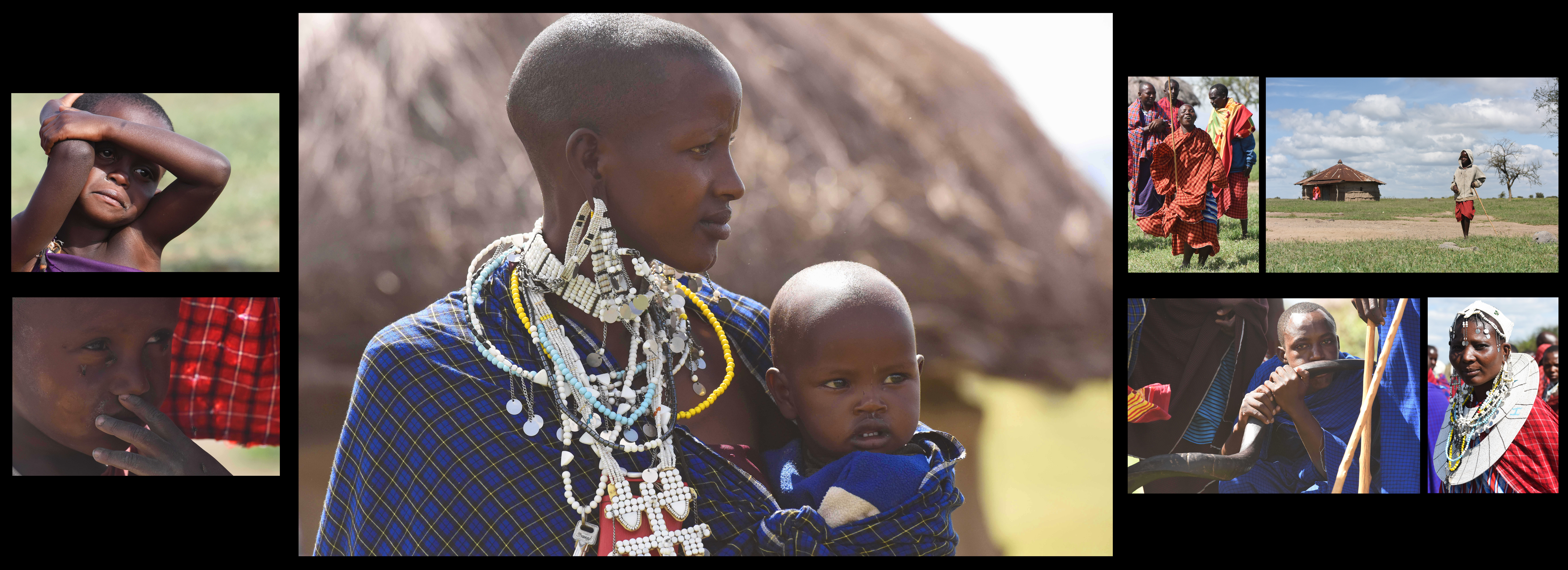 Gender Mainstreaming Seminar attendees visit the Maasai Village during the Gender Mainstreaming Seminar cultural day May 21, 2015 in Tanzania. The Massai tribe is a group of semi-nomadic people inhabiting southern Kenya and northern Tanzania.
