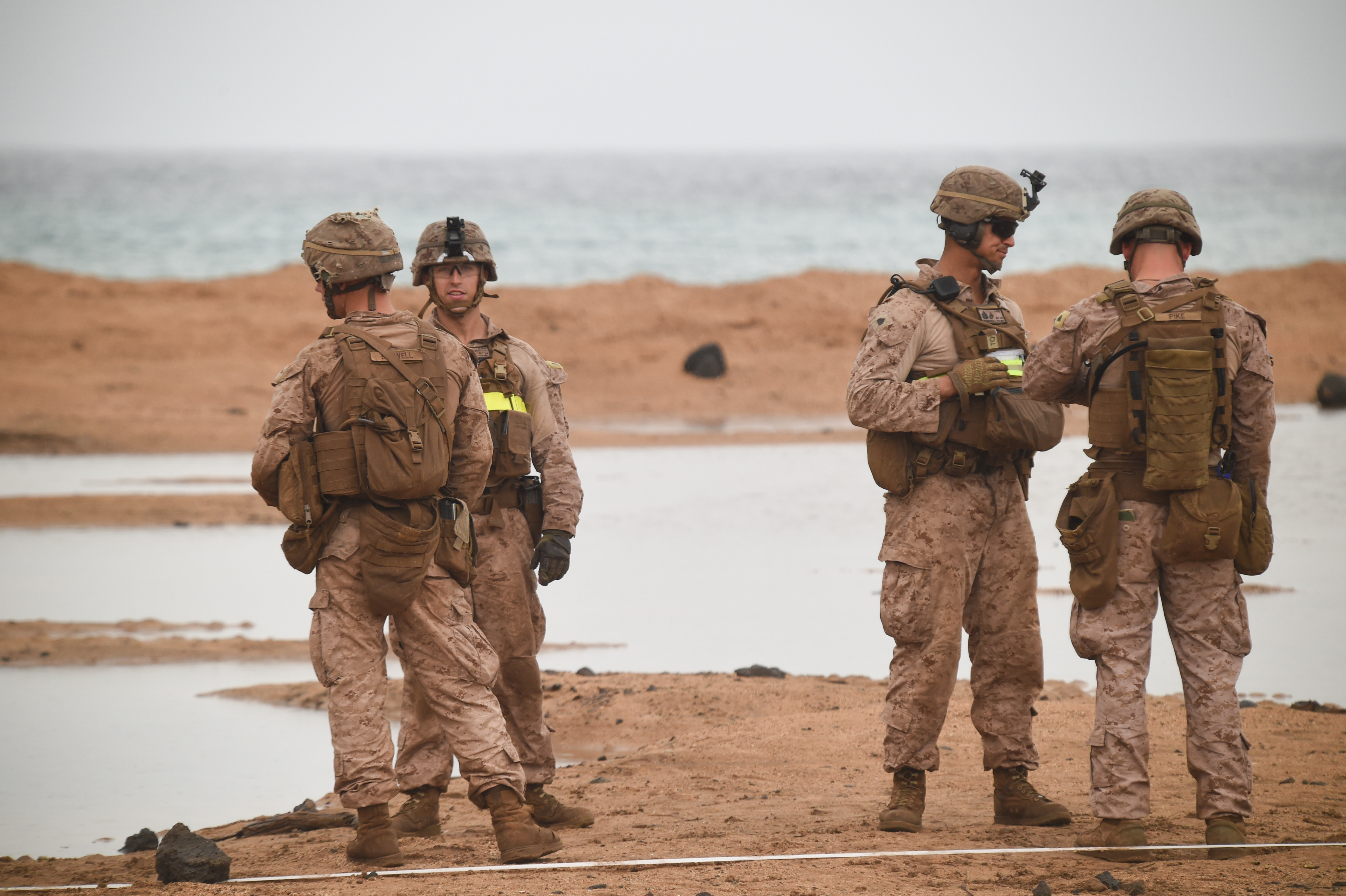11th MEU Spends Valentines On The Range