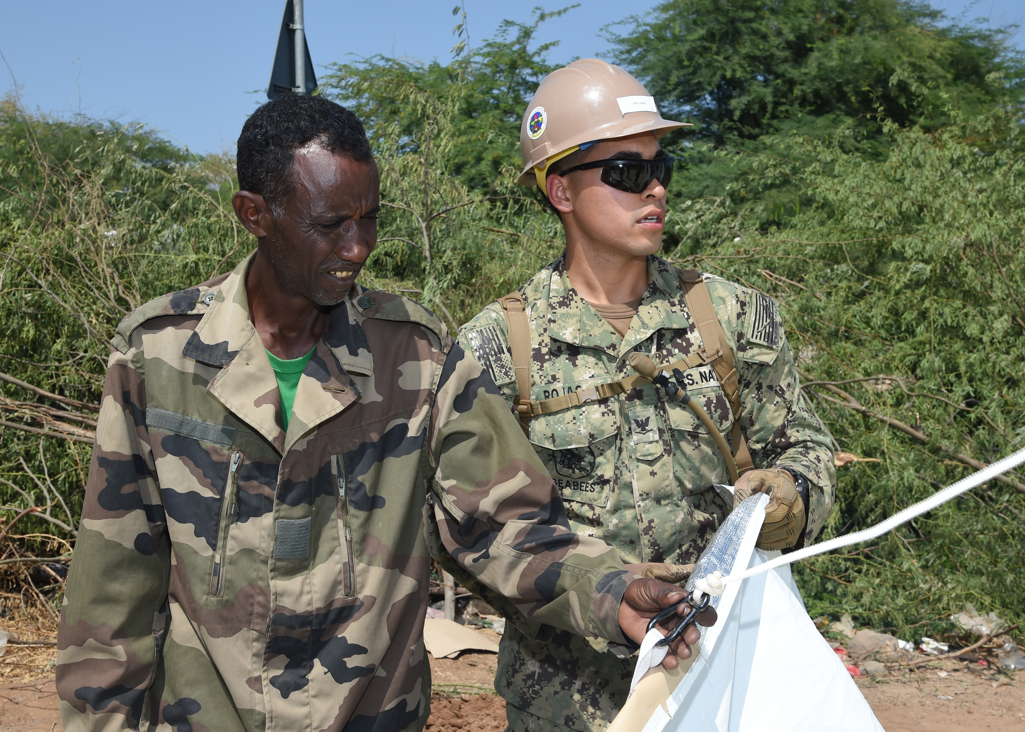 seabees lend a hand combined joint task force horn of africa