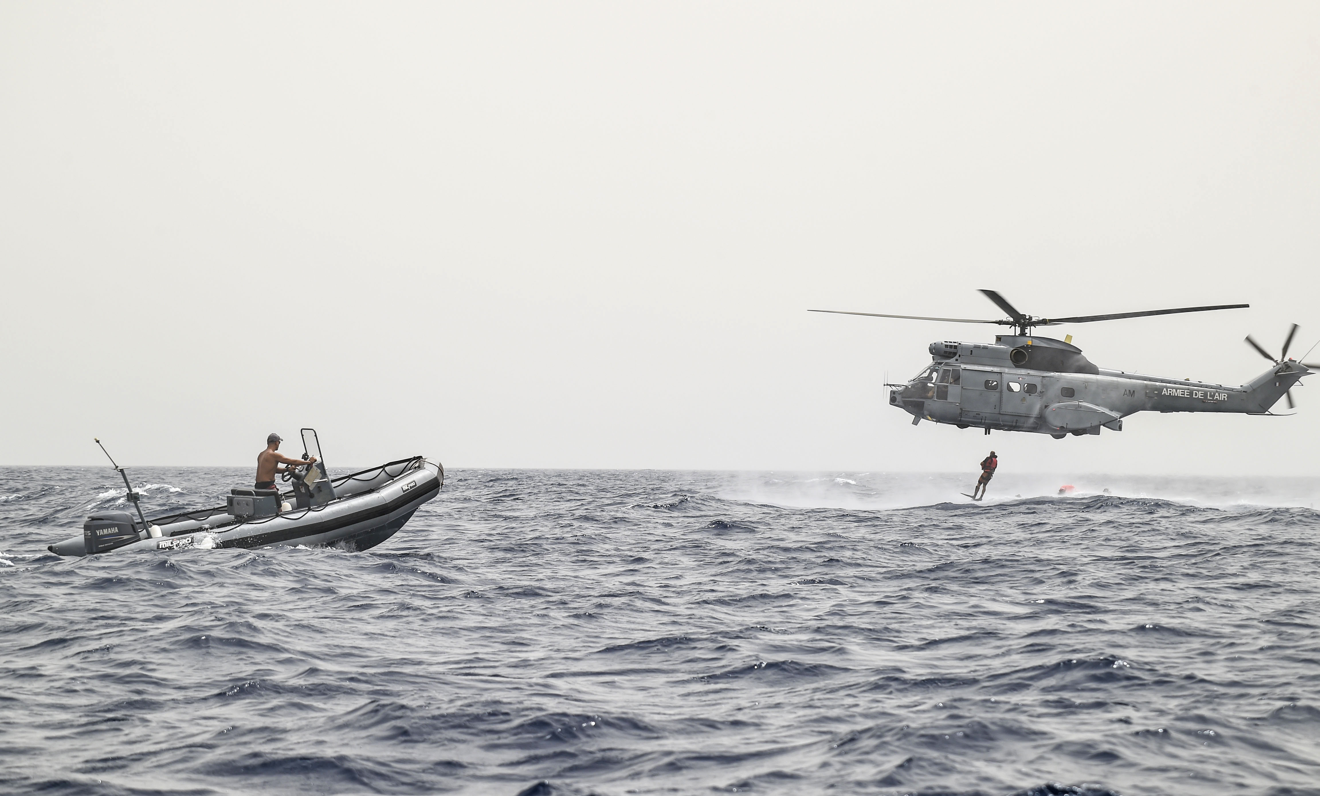 CJTF-HOA unit conducts first bilateral rotary wing water