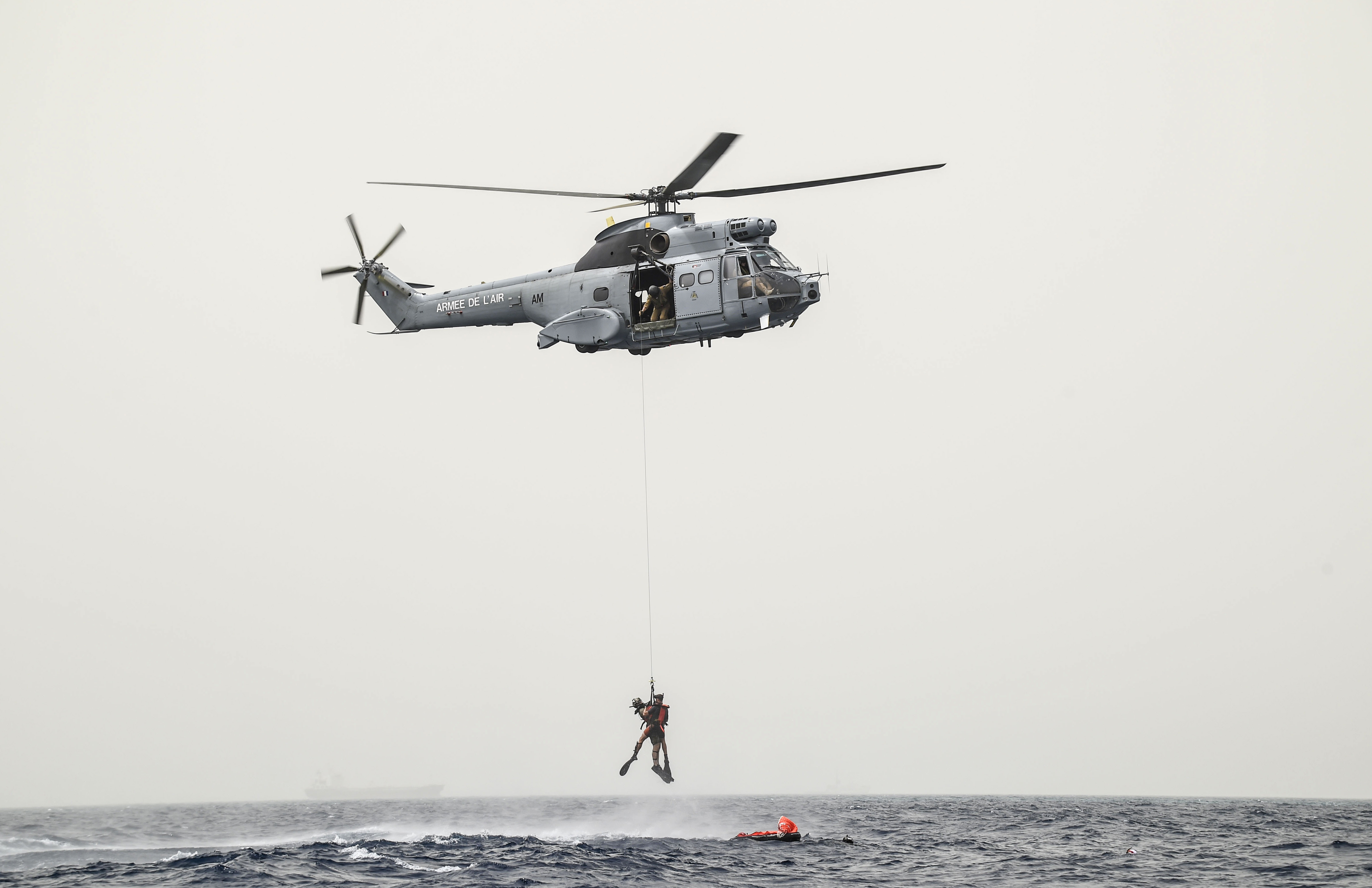CJTF-HOA unit conducts first bilateral rotary wing water operations