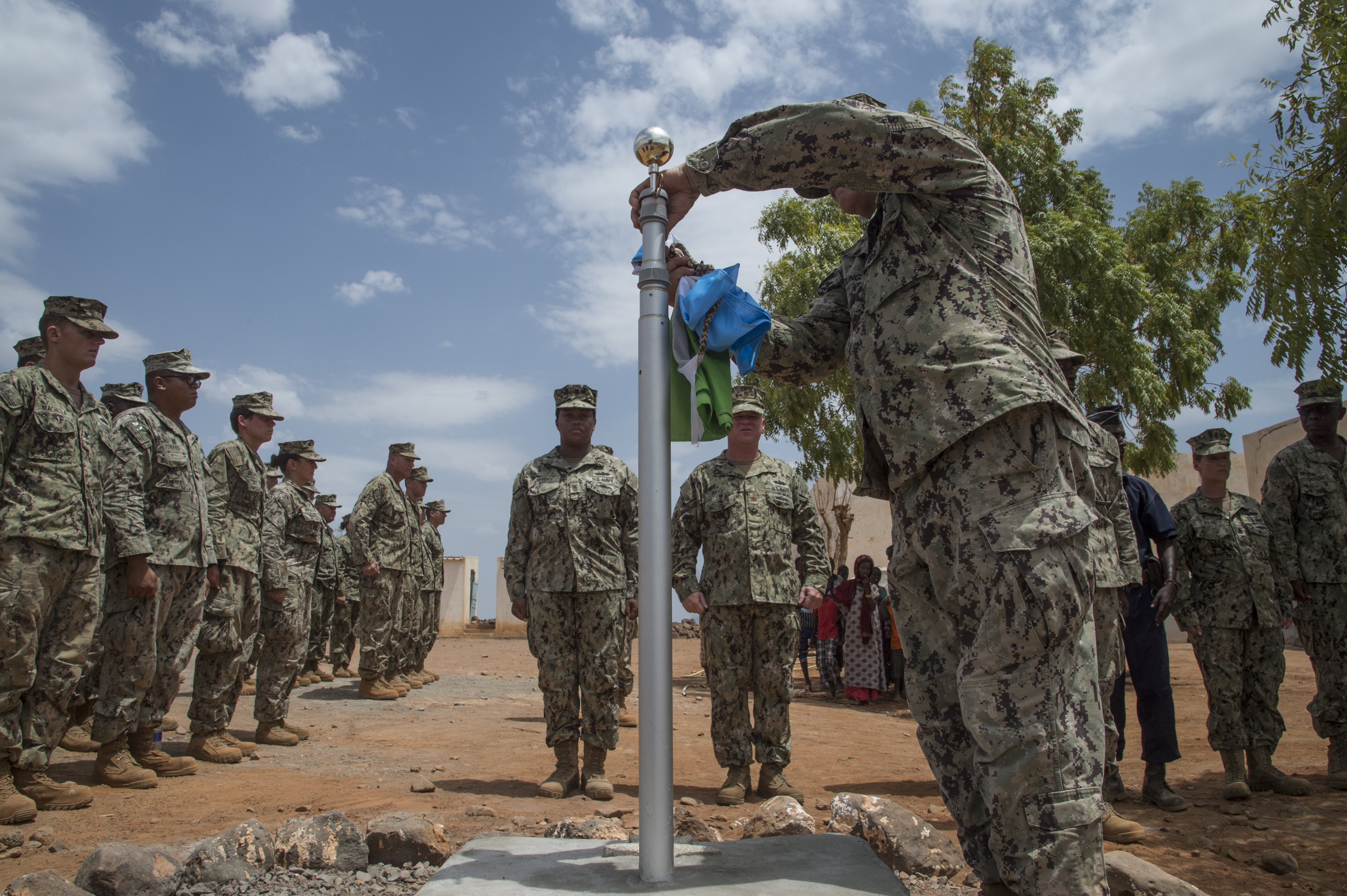 cjtf hoa seabees leave behind strong bonds with a djiboutian village